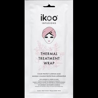 Ikoo_Thermal Treatment Wrap_maska do włosów farbowanych w formie czepka, 35 g