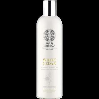 Natura Siberica_White Cedar Biała Syberia_szampon do włosów zwiększający objętość, 400 ml