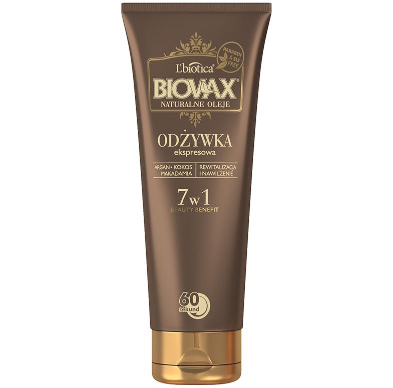 biovax bb odżywka ekspresowa 7w1 do włosów słabych i wypadających