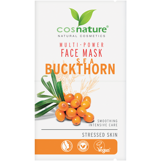 Cosnature_ROKITNIK_naturalna multi-odżywcza maska do twarzy z rokitnikiem, 16 ml