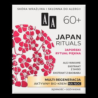 AA_Japan Rituals_regenerujący bio-krem do twarzy na noc 60+, 50 ml