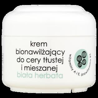Ziaja_Biała Herbata_krem do twarzy bionawilżający do cery tłustej i mieszanej na dzień i na noc, 50 ml