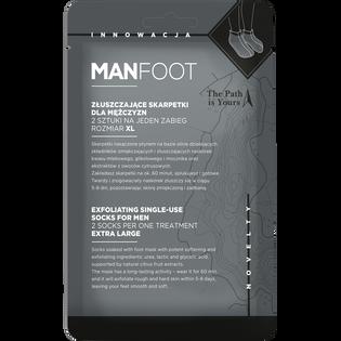 Manfoot_skarpetki złuszczające do stóp XL męskie, 1 para