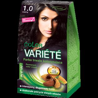 Color Variete_Czarny_farba do włosów 1.0 czarny, 1 opak.