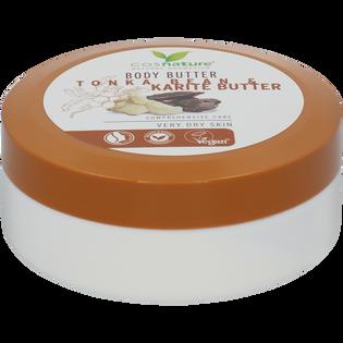Cosnature_naturalne odżywcze masło do ciała z masłem shea i tonką, 200 ml