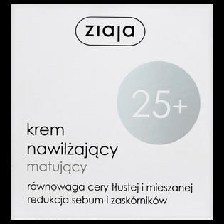 Ziaja_nawilżający i matujący krem do twarzy 25+, 50 ml