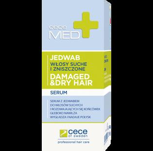 Cece Of Sweden_Med+_serum z jedwabiem do włosów suchych i zniszczonych, 20 ml