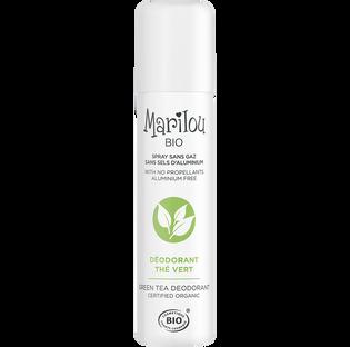 Marilou Bio_Zielona Herbata_dezodorant w sprayu bez gazu ani soli aluminium, 75 ml_1
