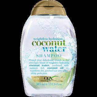 Ogx_szampon do włosów z wodą kokosową, 385 ml
