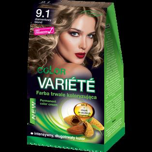 Color Variete_Diamentowy blond_farba do włosów 9.1 diamentowy blond, 1 opak.