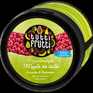 Tutti Frutti_Gruszka & Żurawina_nawilżające masło do ciała, 425 ml