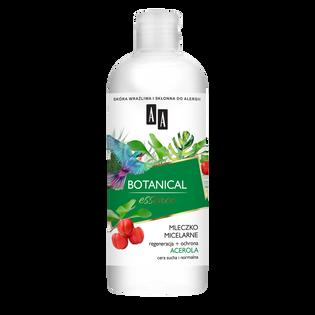 AA_Botanical Essence_mleczko micelarne do demakijażu twarzy suchej i normalnej, 400 ml