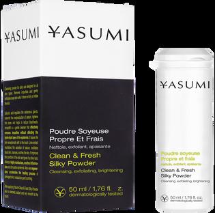 Yasumi_Clean & Fresh_puder oczyszczający do twarzy, 50 ml