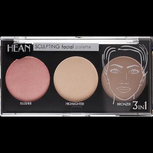 Hean_3w1_paleta do konturowania twarzy 3w1, 10,5 g