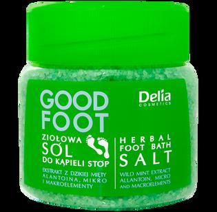 Delia_Good Foot_sól do kąpieli stóp, 570 g
