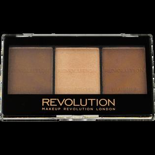 Revolution Makeup_Ultra Sculp & Contour_paleta do konturowania twarzy kit light-medium C04, 11 g_1