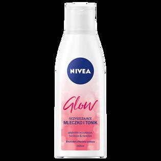 Nivea_Glow_oczyszczające mleczko-toner do twarzy 2w1, 200 ml