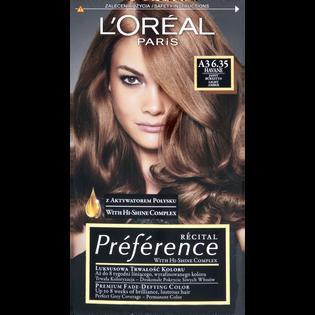 L'Oréal Paris_Récital Préférence_farba do włosów A3 6.35 jasny bursztyn, 1 opak.