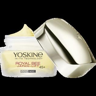 Yoskine_Royal Bee_krem do twarzy na dzień i na noc odmładzający mikrolifting z biomimetycznym peptydem 45+, 50 ml_1