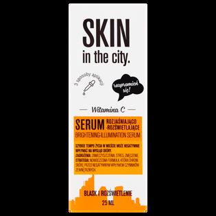Skin In The City_serum rozjaśniająco-rozświetlające do twarzy, 25 ml