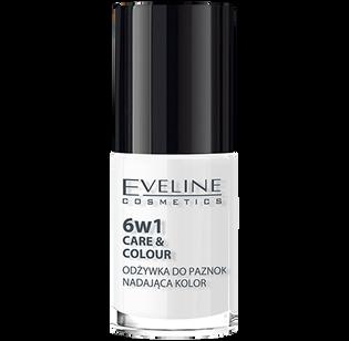 Eveline_6w1 Care&Colour_odżywka do paznokci nadająca kolor french 6w1, 5 ml_1
