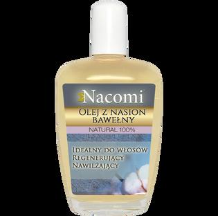 Nacomi_olej z nasion bawełny do twarzy, ciała i włosów dla skóry suchej i wrażliwej, 50 ml