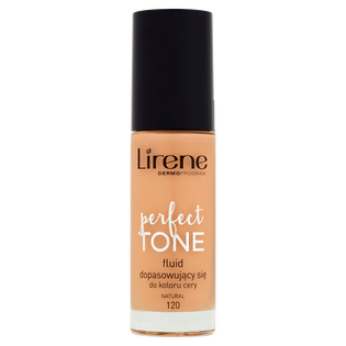 Lirene_Perfect Tone_podkład do twarzy natural 120, 30 ml