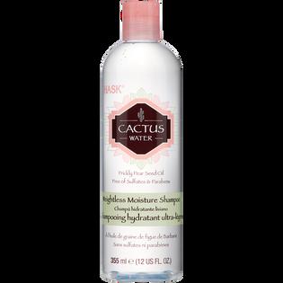 Hask_Woda kaktusowa_nawilżający szampon do włosów z wodą kaktusową, 355 ml