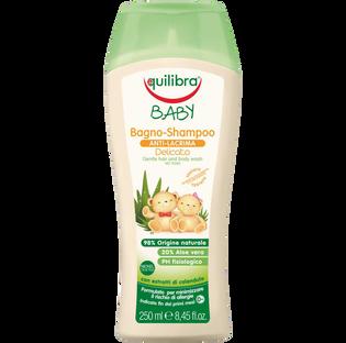 Equilibra_Baby_łagodzący szampon do włosów i ciała, 250 ml