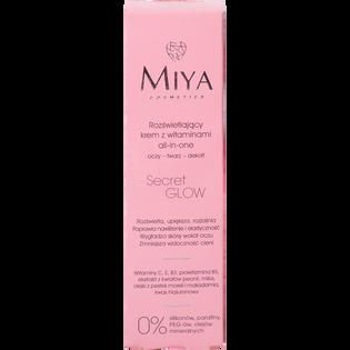 Miya Cosmetics_SecretGlow_rozświetlający krem do twarzy z witaminami, 30 ml_2