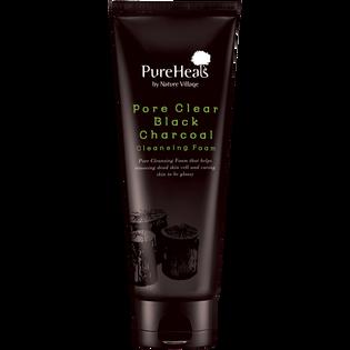 Pureheals_oczyszczająca pory czarna pianka do twarzy z węglem aktywnym, 150 ml_1