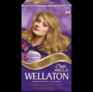 Wella_Wellaton_krem koloryzujący 8/0 jasny blond, 1 opak.