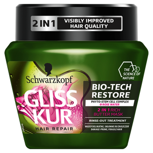 Gliss Kur_Bio-Tech Restore_maska do włosów 2w1, 300 ml