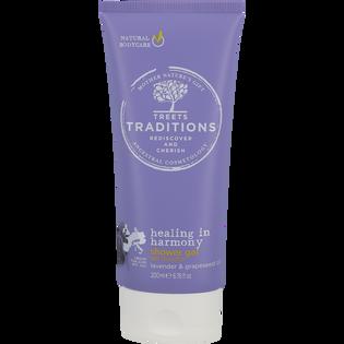 Treets Traditions_Healing in harmony_zestaw: lotion do ciała, 50 ml +  żel pod prysznic, 200 ml + pianka pod prysznic, 200 ml_2