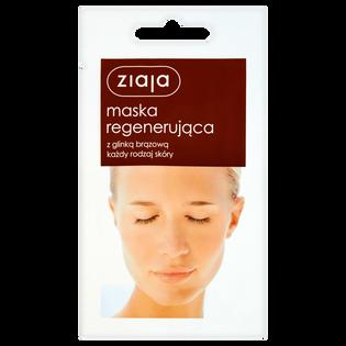 Ziaja_maseczka regenerująca do twarzy z glinką brązową, 7 ml