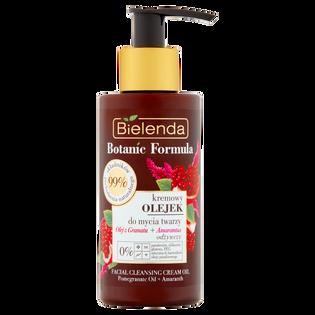 Bielenda_Botanic Formula_kremowy olejek do mycia twarzy olej z granat + amarantus, 140 ml