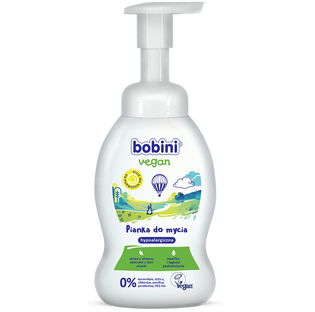 Bobini_Vegan_pianka do mycia dla dzieci, 300 ml