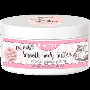 Nacomi_Strawberry-guawa pudding_lekkie masło do ciała o zapachu truskawkowego puddingu z guawą, 100 g