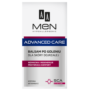 AA_Men Advanced Care_balsam po goleniu do skóry dojrzałej, 100 ml