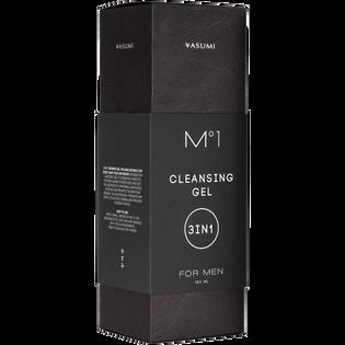 Yasumi_M1 Men_oczyszczający żel pod prysznic 3w1 męski, 150 ml_2
