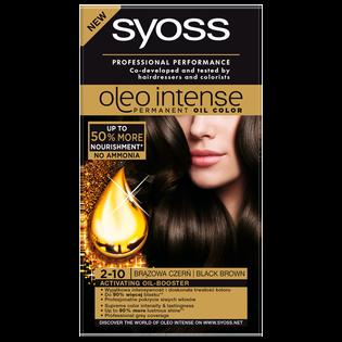 Syoss_Oleo Intense_farba do włosów 2-10 brązowa czerń, 1 opak.