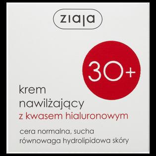 Ziaja_krem do twarzy nawilżający z kwasem hialuronowym 30+, 50 ml