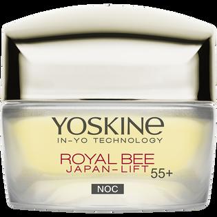 Yoskine_Royal Bee_krem do twarzy na noc zaawansowana odbudowa skory z biomimetycznym peptydem 55+, 50 ml_1