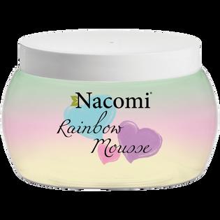 Nacomi_Rainbow Mousse_natłuszczający mus do ciała o zapachu arbuza, 200 ml