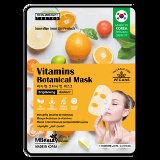 Mbeauty_Witaminy_rozjaśniająca i rozświetlająca maska na płachcie z witaminami, 23 g_1