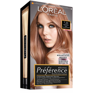 Loreal Paris_Preference_farba do włosów 7.23 rich rose, 1 opak.