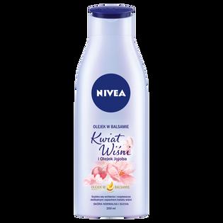 Nivea_Kwiat Wiśni i Olejek Jojoba_nawilżający olejek do ciała w balsamie, 200 ml