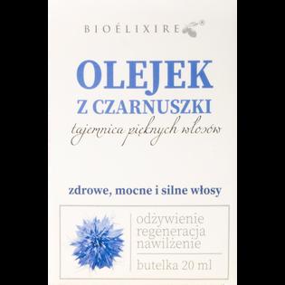 Bioelixire_Czarnuszka_regenerujący olejek do włosów, 20 ml