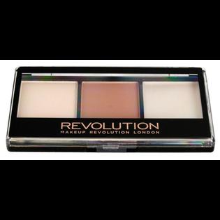 Revolution Makeup_Ultra Cream_paleta do konturowania twarzy F02, 11 g