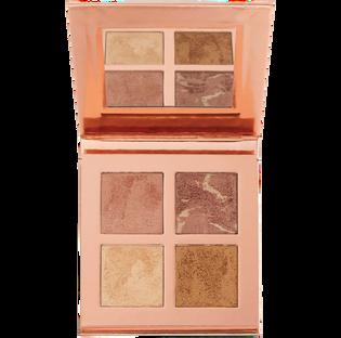 Revolution Makeup_Face Quad-Ignite_paleta rozświetlaczy do twarzy, 28 g